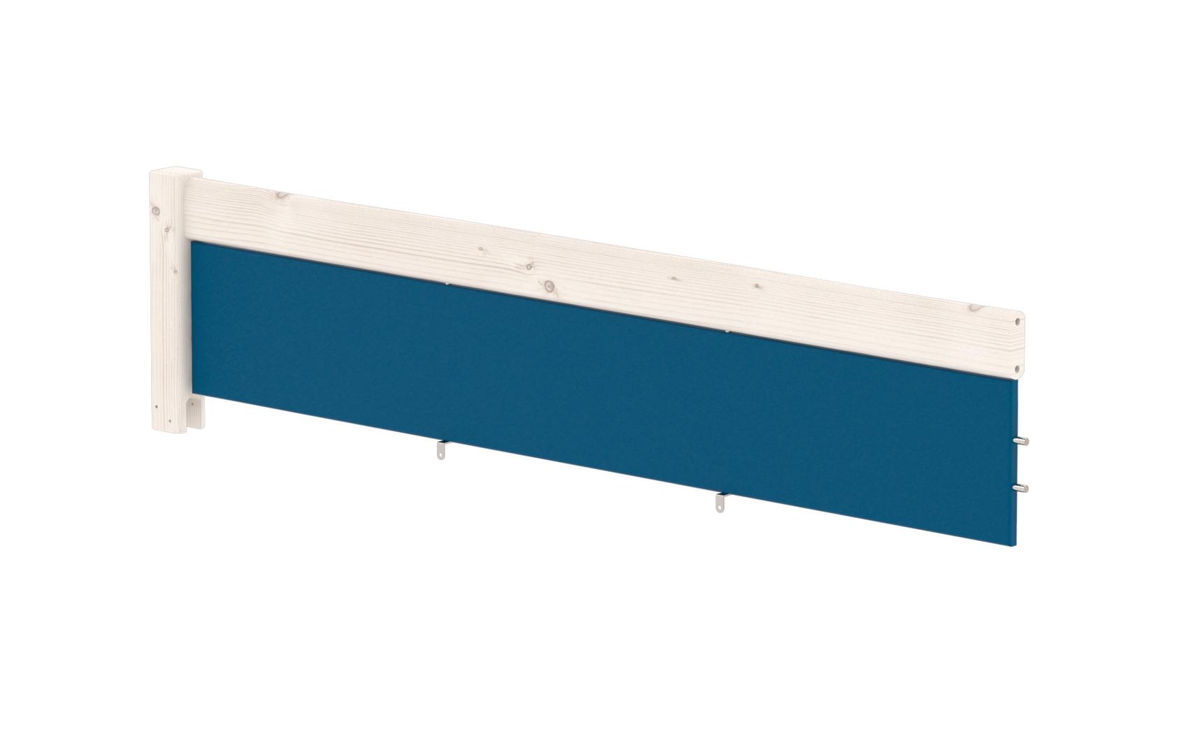 Etagenbett Flexa Absturzsicherung : Harmony bett mit farbigen füllungen und 1 2 absturzsicherung