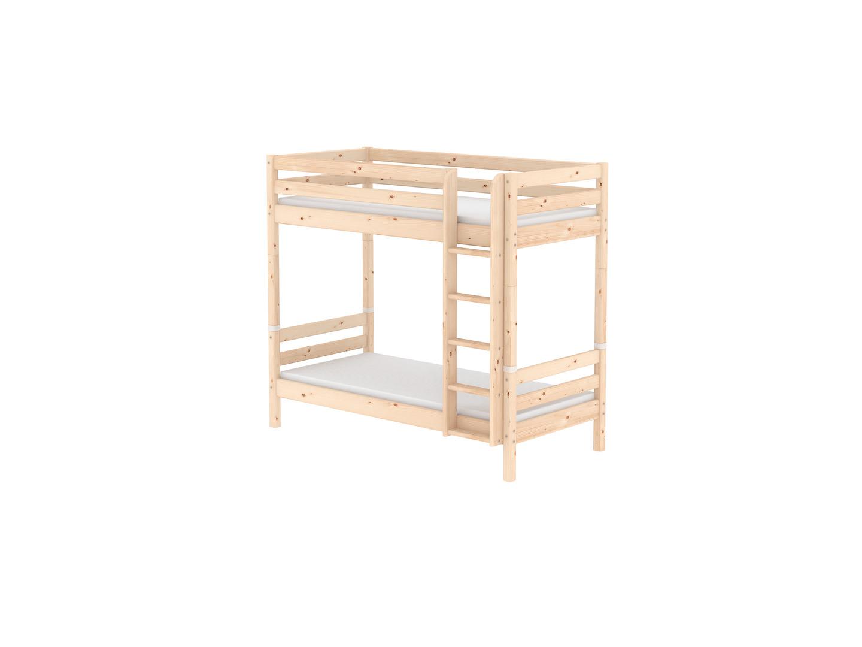 Flexa Etagenbett In L Form : Flexa classic etagenbett klar lackiert